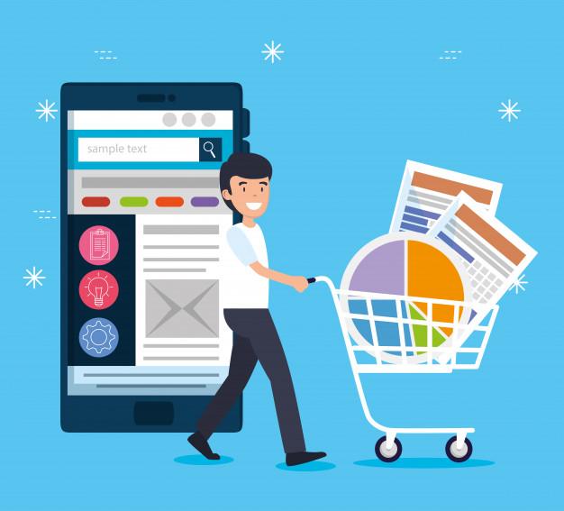 Vendas online Amazon e Mercado Livre