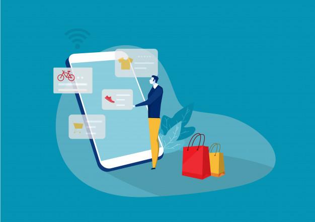 Vendas online pelo ecommerce