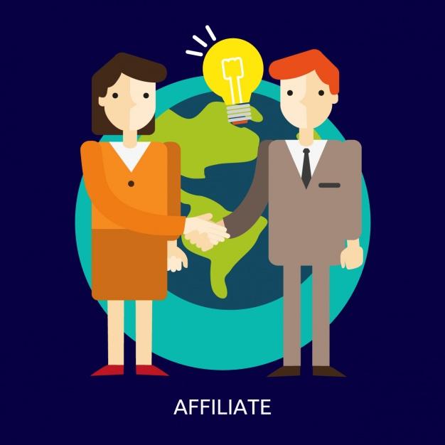 parceiros de afiliados