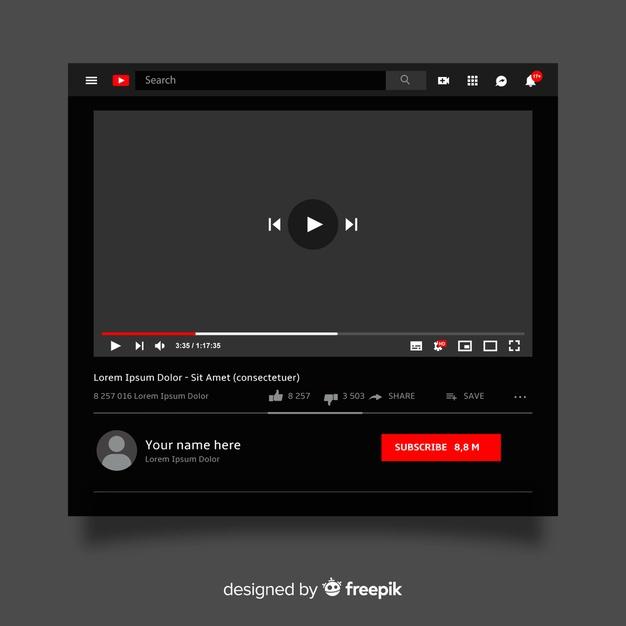 Criar um canal no Youtube sendo menor dei dade