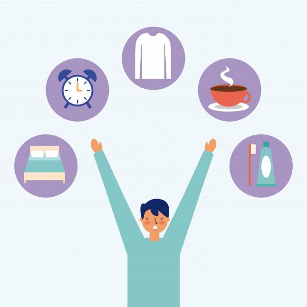 Hábitos e rotina da manhã de pessoas de sucesso